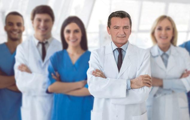 Haartransplantation Ärzteteam